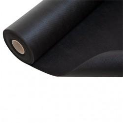 16 m² - Feutre Géotextile Noir / Toile anti-racine 50 g / m² de dimensions 1.6m x 10m