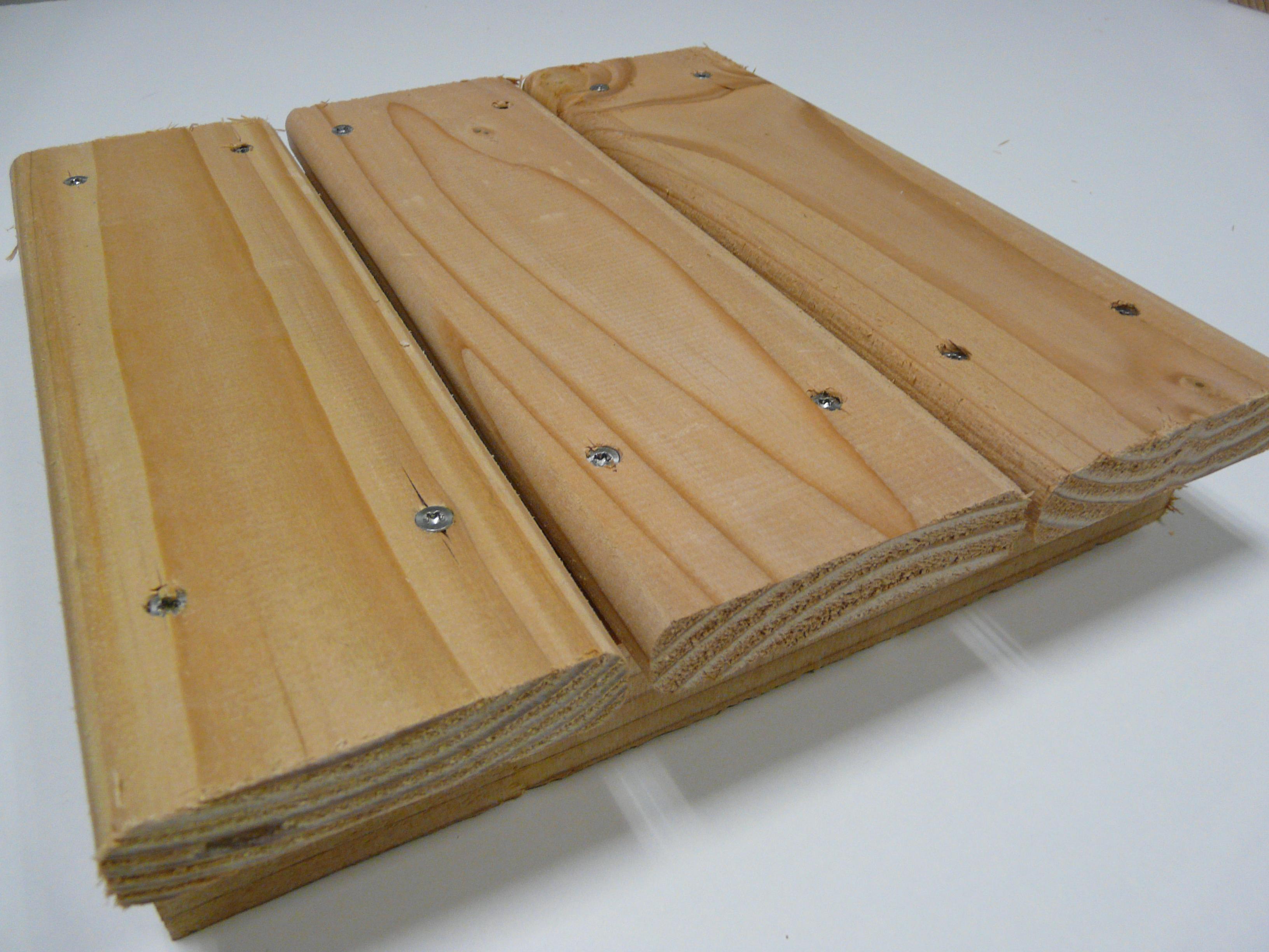 Lames De Bardage Bois Pas Cher lame de terrasse bois eco 21x95 douglas naturel 2nd choix 4m - bricobois.fr  : accessoires bois pas cher, vis inox, support poteau pied réglable,