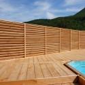 ◙ Lame de Terrasse PRESTIGE Abouté 34x190 (Ép. 34mm , largeur 190mm, long 6m) Douglas PREMIUM 6m