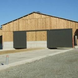 ○ ☺ 75,6 m² de Volige Agricole soit 144 Planches de Bardage Brute 19x175 Épicéa Classe 3 Vert 3m