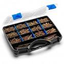 Malette / Coffret 2008 pcs Multi produits de vissage bois + embouts - Index
