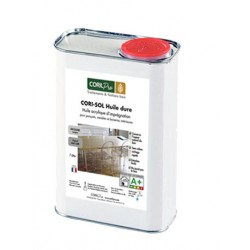 Huile à parquet CORI-SOL Huile dure Qualité Environnement CORIL Pro Aspect Mat Ciré