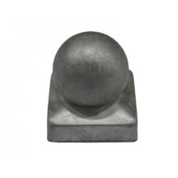 Chapeau Boule pour Poteau Carré Pyramide
