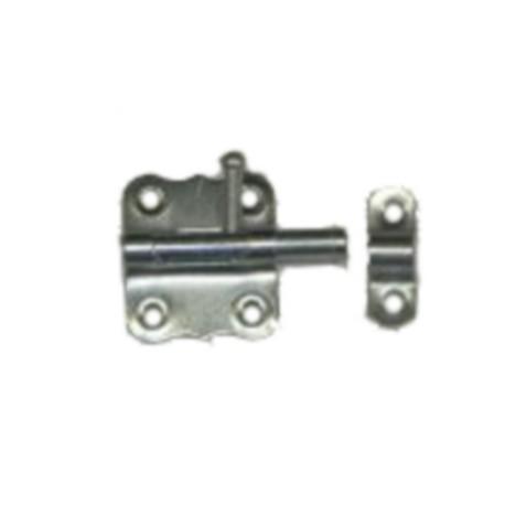 Verrou de porte cadenas Ø 7mm / L : 33 mm