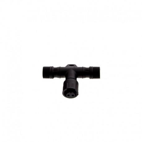 Raccord / Connecteur en T pour Spot LED RGB ou Spot Blanc Chaud