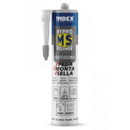 Cartouche Colle Scellement Professionnel 290 ml - Polymère hybride MS mono composant pour joints de dilatation