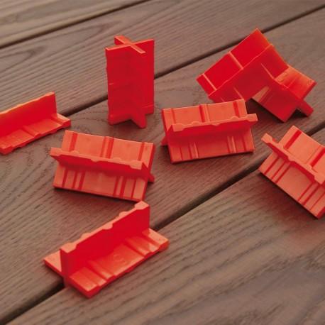 Espaceur de lames de Terrasse - lot de 8 pièces