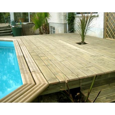 kit 5 m terrasse bois douglas autoclave 28mm livraison gratuite accessoires. Black Bedroom Furniture Sets. Home Design Ideas