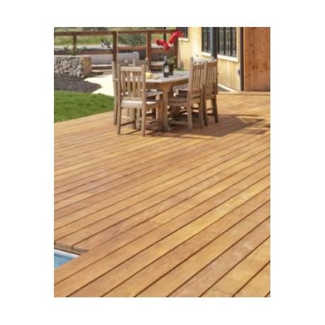 promo lame terrasse garapa qualit kd 1er choix lisse 20x140 accessoires. Black Bedroom Furniture Sets. Home Design Ideas