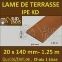 Ipé KD 20x140 mm